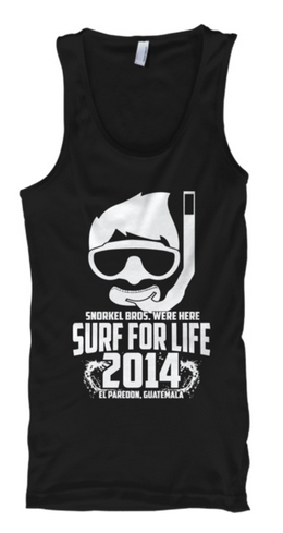 Snorkel Bros. Surf for Life tank top